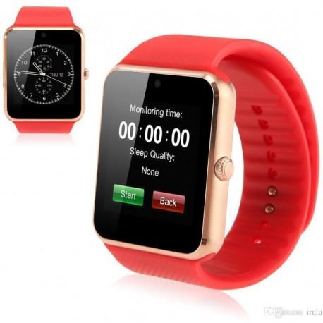 GT08 Smartwatch - Cassa ronzo Bracciale rosso