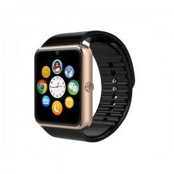 DAVILIS® GT08 Smartwatch - Cassa Bronzo Bracciale nero