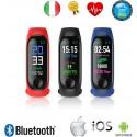 Smartwatch Cardiofrequenzimetro da polso Sport bluetooth GPS Contapassi Calorie